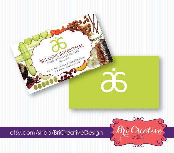 Fruit Arbonne Business Card Design by BriCreativeDesign on