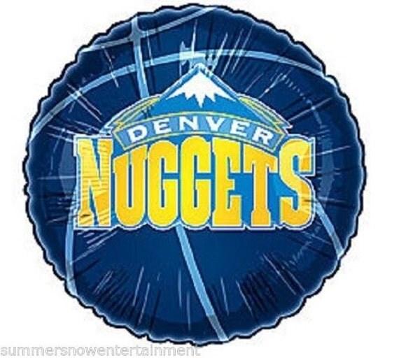 18 Denver Nuggets NBA Mylar Foil Balloon Birthday By