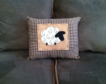 Handmade Sheep Pillow