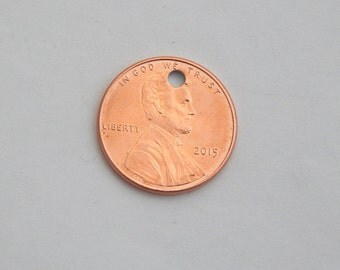 2015 Penny - Other Years Available - Add it to Your Lucky Penny Key Chain, Necklace or Bracelet