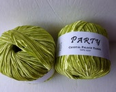Sale   Celery Green Party by Crystal Palace Yarns