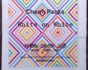 White-on-White Charm Pack (WOW42CP01)