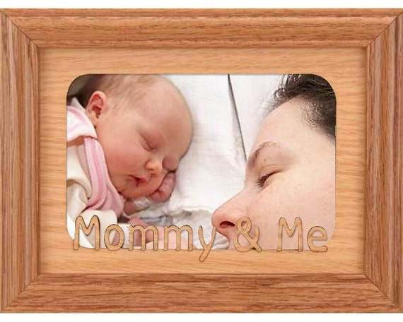 5x7 Mommy And Me Picture Frame Daddy And Me Frame By