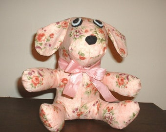 Pretty pink puppy