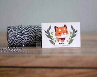 Shiba Inu Small Note Cards