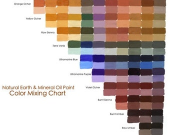 natural earth paint color mixing ch art. Black Bedroom Furniture Sets. Home Design Ideas