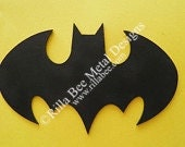 Bat Custom Metal Sign
