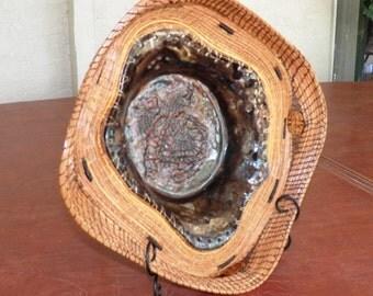 Pine Needle Fruit Bowl