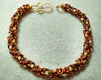 Pirates Gold Chainmaille Bracelet