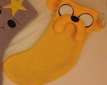 Adventure Time Jake Christmas stocking