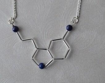 Biolojewelry - Lapis Lazuli Serotonin Necklace