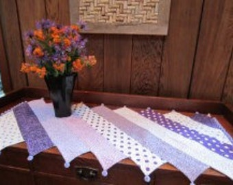 Whimsical Quilted Table Runner