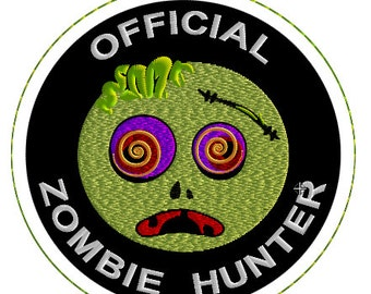 """4"""" Embroidered Zombie Hunter Patch"""