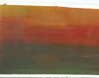 Original Oil Painting:  Sunset