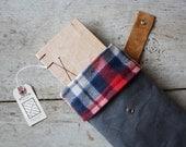 Waxed Canvas Bag & Field Journal