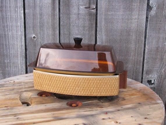 Electric Bun Warmer ~ Mid century electric bun warmer salton and cornwall warming