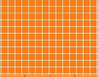 Windham - Citrus by Another Point of View Geometric Window Pane in Orange 37514-3 by the Yard