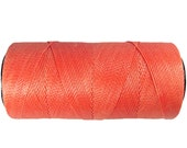 Coral Cord - Waxed Polyester 0.8mm - 16 yards/15 meters Knotting Cord