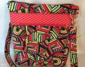 SALE * Across The Body Bag, long handle purse