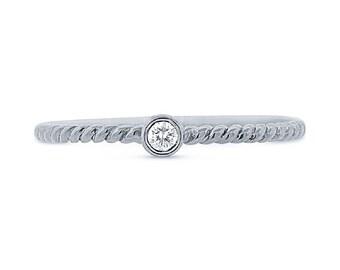 Beautiful Gold Diamond Ring BXSC22003797