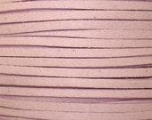 Lavender  Faux Suede Fiber Cording, DIY jewelry making cording, Man made faux suede cording strands, 10 / 2.50, by Color Kissed Silk LLC.