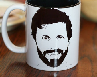 Rob Benedict, Louden Swain, Supernatural, Felicity, State of Play, Chuck, Hand Printed Cup