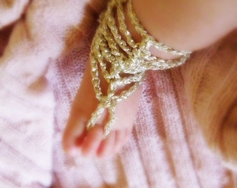 ON SALE Crochet Baby Barefoot Sandals, Baby Foot accessories, Photo prop, Beach Pool Anklet, Gold Sandals, chose size sandals