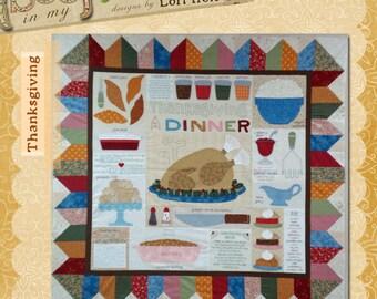 Thanksgiving Dinner pattern by Lori Holt
