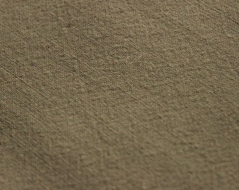 60 X 43 Taupe Color Wool Blend Fabric Remnant