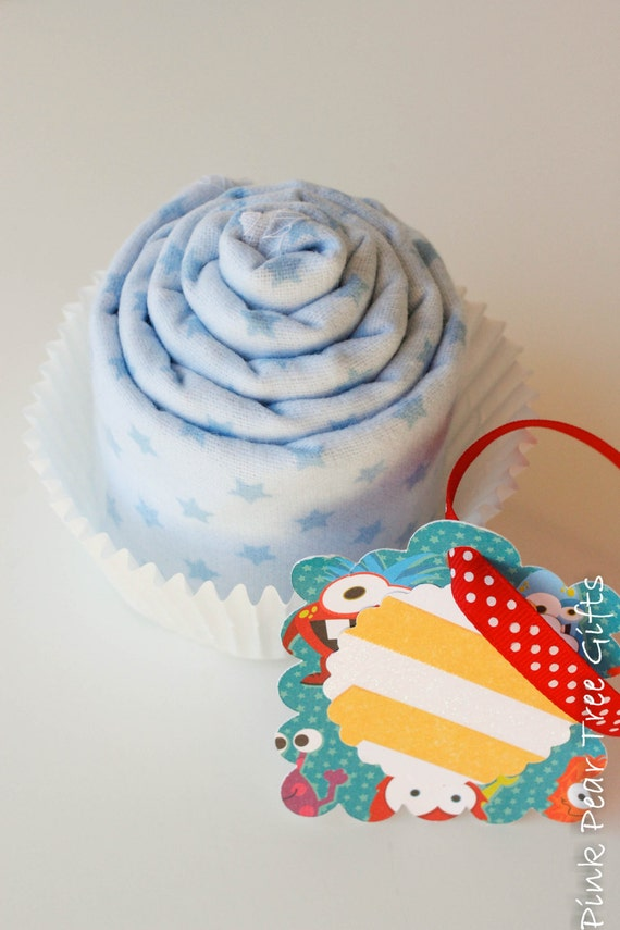 Baby Blanket Cupcake Add On