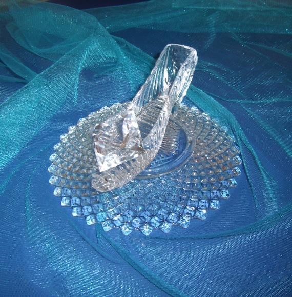Cinderella slipper wedding shower centerpiece by