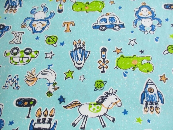 Kid fabric adventure in galaxy rocket police vehicle for Kids horse fabric
