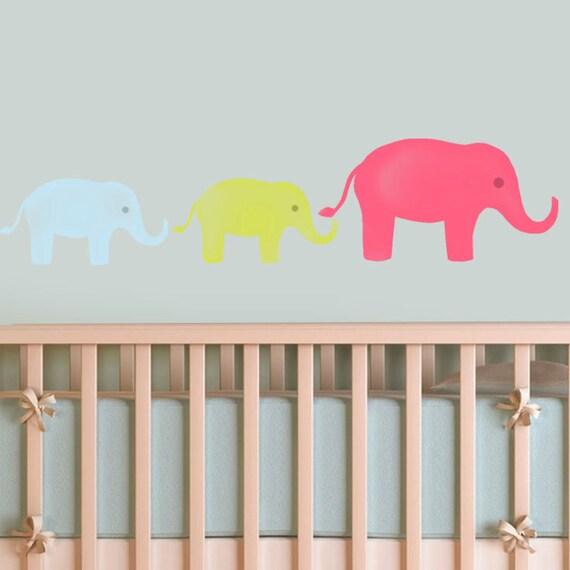 Wandschablone Kinderzimmer | Elefant Kinderzimmer Schablone Kinderzimmer Wand Dekor