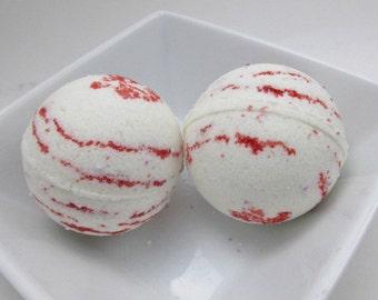 Bath Bomb Twisted Peppermint