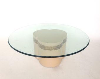Bernhard Rohne for Mastercraft Trifoliate Coffee Table