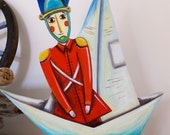 The steadfast tin Soldier, a fantastic character on wheels