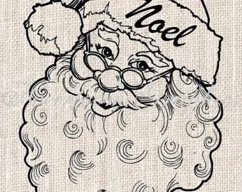 Christmas Iron On Digital Download Christmas Vintage Transfer