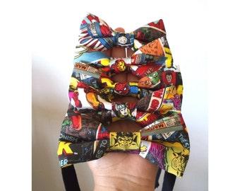 Comic Book Superhero Bow Tie