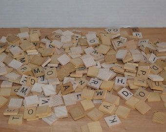 Scrabble Pieces- Craft Projects..