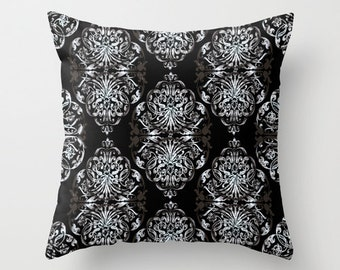 Gray Pattern Pillow cover Retro Pillow Throw pillow Cushion covers Pillow case Accent pillow Couch pillow Geometric pillows Pattern Pillow