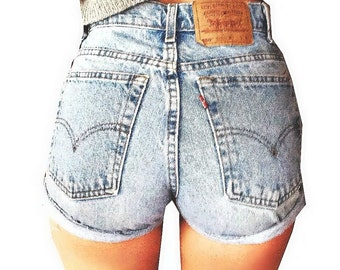 Plain Jane High Waist Shorts