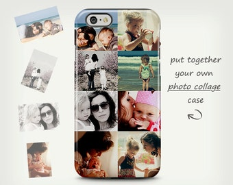 Photo case, iPhone 6 case, Photo collage case, iPhone 5 case, personalized case, iPhone 7 case, custom photo case, Samsung Galaxy cases