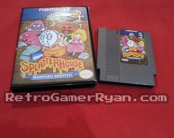 Splatter House: Wanpaku Graffiti (NES Reproduction)