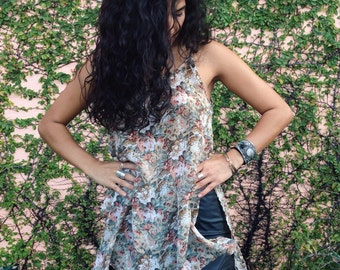 Floral Oversized Tank