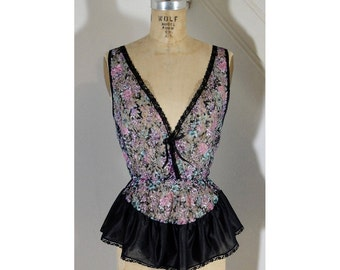 1980s Lace Top
