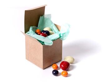 25  Kraft Gift Boxes 3x3x3