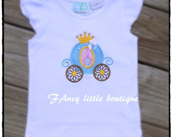 cinderella  t shirt and bow set