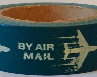 "SALE  Washi Tape ""Air Mail""  10 Meters"