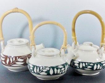 cane handle teapot