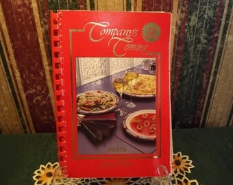 Vintage Company's Coming Cook Book, PASTA, Softcover/Spiral-bound Cookbook for Tried and True Recipes from Jean Pare, Canada